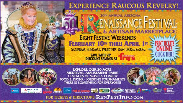 Hear Ye Hear Ye!!Arizona Renaissance Festival Is Here