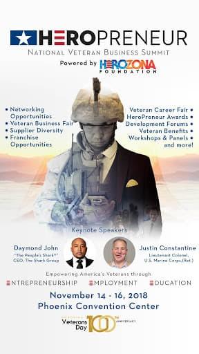 Heropreneur  National Veterans Buisness Summit