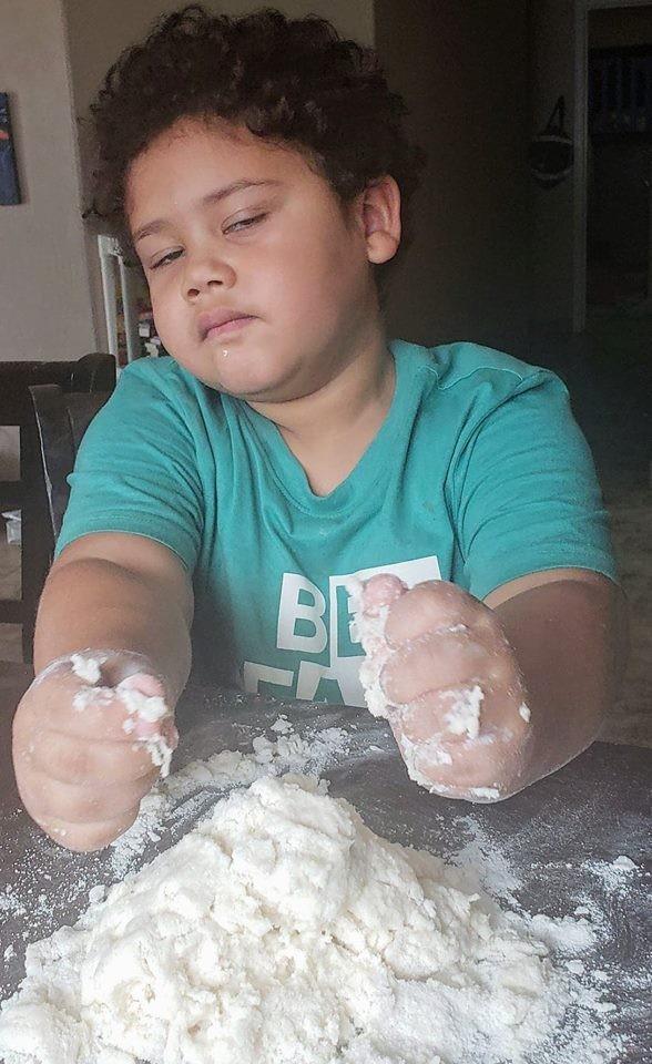 Salt Dough ( handprint craft)