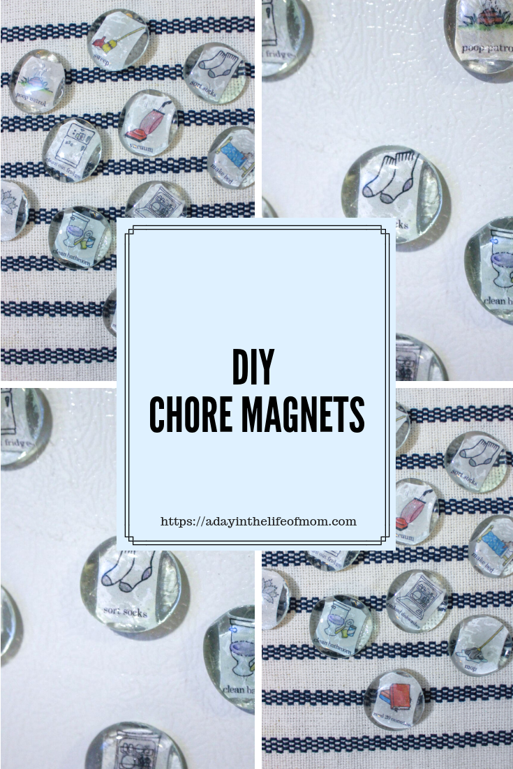 Chore Ideas By Age: Free DIY Chore Magnet Printable