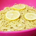 One Pot Parmesan Lemon Sardine Pasta