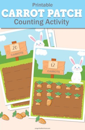Freebie Friday:  Help Your Little One Learn to Count (Free Printables)