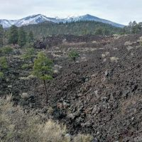 Sunset Crater Volcano Flagstaff Arizona