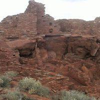 Wupatki Pueblos in Flagstaff Arizona