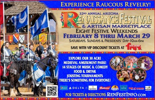 32nd Annual Arizona Renaissance Festival