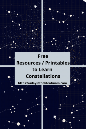 Free Resources & Printables to Learn About Constellations