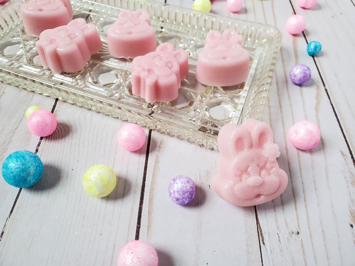 Bunny Face Sugar scrub bars